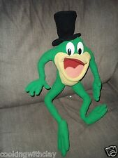 JUMBO MICHIGAN J. FROG PLUSH DOLL FIGURE DETROIT CHARACTER TOY APPLAUSE CARTOON