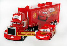 Disney Movie Cars The Big Size MACK TRUCK+McQueen Figure 8.5 inch 21CM gift toy