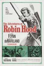 The adventures of Robin Hood Errol Flynn movie poster 9