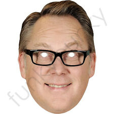 Vic Reeves Celebrity Comedian Cardboard Card Mask - All Our Masks Are Pre-Cut!