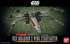 Bandai 1/72&1/144 Scale Plastic Model Kit Star Wars Red Squadron X-Wing Fighter