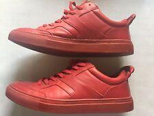 Aldo Men Red Made In Romania Euro 45  Fashion Sneaker Shoe Is 11.5