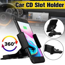 Universal 360°Car Vehicle CD Slot Mount Holder Cradle For Mobile Phone GPS PDA
