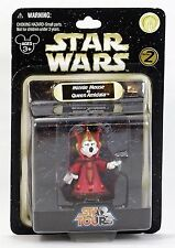Minnie Mouse Queen Amidala Star Wars Disney Parks Star Tours Mint On Card MOC!
