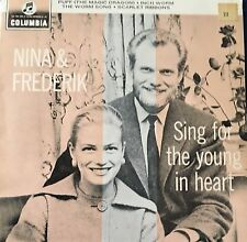 EP Nina & Frederick Sing For The Young At Heart Australian Pressing in VG+ 1965