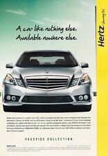 2010 Mercedes Benz E-Class  Original Advertisement Print Art Car Ad J555