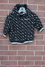 ROCAWEAR BABY UNISEX HOODIE  SWEATSHIRT SZ 12 MONTHS ROCA WEAR LOGO BLACK/WHITE