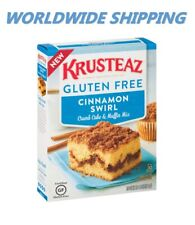 Krusteaz Gluten Free Cinnamon Swirl Cake Mix 20 Oz WORLDWIDE SHIPPING