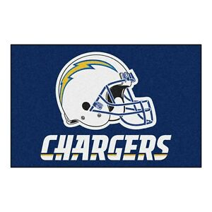 "Fanmats NFL Los Angeles Chargers Rookie Mat Area Rug Bath Mat 20""x 30"""