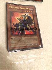 Infinity Archfeind New Sealed With 2 Other Cards
