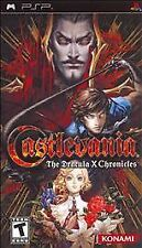 Castlevania: The Dracula X Chronicles Sony PSP COMPLETE Symphony of the NIGHT !