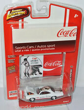 COCA-COLA - 1970 Dodge Super Bee-WHITE/Graphics - 1:64 Johnny Lightning
