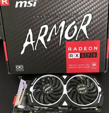 MSI AMD Radeon RX 570 Armor 4GB GDDR5 Graphics Card (RX 570 ARMOR 4G OC)