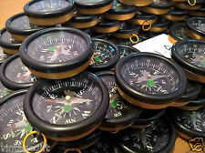 Lot Of 100 Pcs Compass For All Directions 45mm Collectible Scientific Instrument