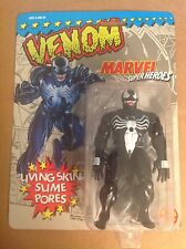 Marvel Super Heroes Venom Living Skin Slime Pores figure sealed MOC Toy Biz 1991