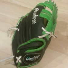 Rawlings Youth T-Ball Baseball Glove RHT Right Handed Throw PL90LG 9 Inch Green
