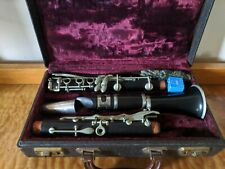 Vintage HENRI DUBOIS Clarinet With Case