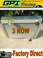 3row aluminum radiator fit LAND CRUISER HJ45 HJ47 H 3.6 2H 4.0 Diesel manual