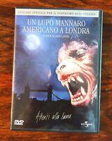 Un lupo mannaro americano a Londra Film Commedia Horror di John Landis DVD 1981