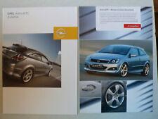 Prospekt Opel Astra H GTC accesorios, 1.2005, 16 páginas + 2 páginas irmscher
