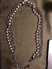 pearl and necklace style belt