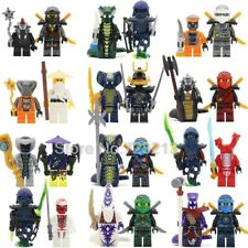 24 pc Set Ninja Movie Lloyd Garmadon Cole Minifigures for Party Favors or Cake