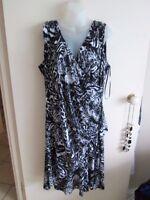 CROSSROADS  size  18 - 20  Lovely Long Slinky Mid Calf SUMMER Dress  RET $ 49.95