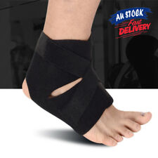 Adjustable Sports Compression Ankle Brace Support Stabilizer Elastic Foot Wrap U