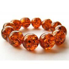 Armband, Bernstein, COGNAC, Kugel, Balls, Beads Amber Bracelet NEU