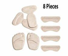 Gel Shoe Cushions Pads Inserts Grips Anti Slip Shoe Cushion Women 8 Pieces