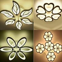 New Design Acrylic Modern Led Ceiling Lights Lampe Plafond Avize Indoor 3 shapes
