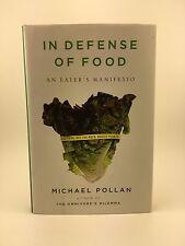MICHAEL POLLAN In Defense of Food Eater's Manifesto 1st/1st HB/DJ