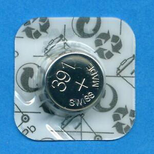 4 x 391 SR1120W SR55 SR1121 Rayovac Silver Oxide Watch Cell Batteries