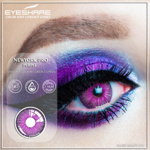 Contact lens soft hydrophilic beauty makeup fation for masquerade party