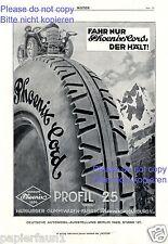 Pneus Phoenix Harburg XL la publicité de 1926 HARBURGER ARTICLES en CAOUTCHOUC usine Publicité