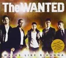 THE WANTED (BOY BAND) - WALKS LIKE RIHANNA [SINGLE] NEW CD