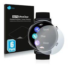 6x Displayschutzfolie für Zeblaze GTR Klar Transparent Schutzfolie Displayfolie