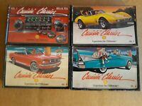 (4) SHELL Cruisin Classics Cassette Tapes Vol. 1, IV V  VI -  crusin'