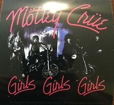 "Motley Crue Girls Girls Girls Sticker 4""x4"""