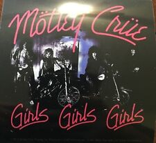 "Motley Crue Girls Girls Girls Sticker 4""x4"""