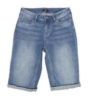Womens F&F Blue Denim Shorts Size 6/L11