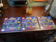 Lego Dc Super Heroes The Batcave 6860 Manuals Instructions Only Set #1-3 Books