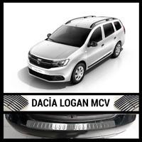 Dacia Logan MCV II 2007-2012 Chrome Rear Bumper Protector Scratch Guard S.Steel