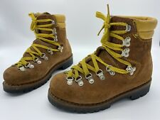 RARE Vintage Meindl Schuh Mountaineering Hiking Boots 39EU Men's 6.5 Women's 7