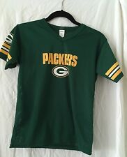 Green Bay Packers Jersey Size Youth Medium Med Green Franklin NFL Football Mesh