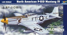 Trumpeter North American P-51 D Mustang IV 1:24 Trumpeter 02401  X