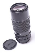 FOR KONICA AR SIGMA 75-210MM f/3.5-4.5 MACRO ZOOM-K III LENS WITH CAPS
