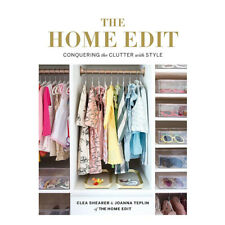 The Home Edit: Conquering the clutter with style By Clea Shearer  Paperback NEW
