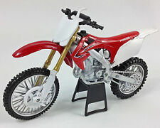 Nuevo Ray Honda CRF 450 1:12 Kit DIECAST Motocross Mx Moto Niños Juguete Modelo Rojo