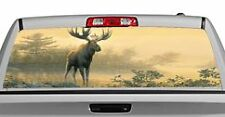 Truck Rear Window Decal Graphic [Wildlife / Northwoods Moose] 20x65in DC48101